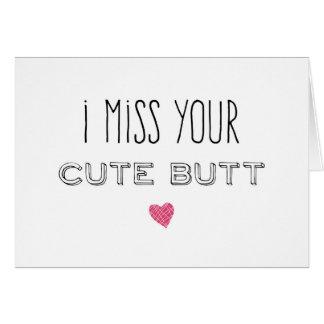 Tarjeta I Srta. Your Cute Butt