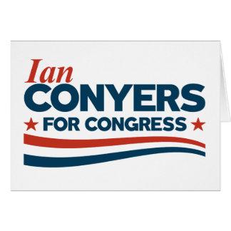 Tarjeta Ian Conyers