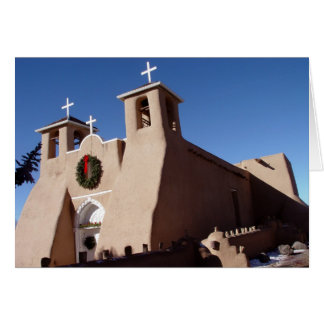 Tarjeta Iglesia de San Francisco de Asis Mission en el