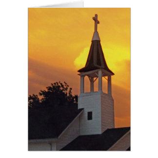 Tarjeta Iglesia del país