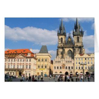 Tarjeta Iglesia Praga de Tyn