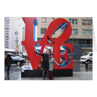 Tarjeta Imagen del amor NYC
