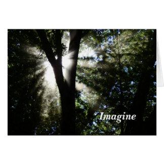 Tarjeta Imagínese
