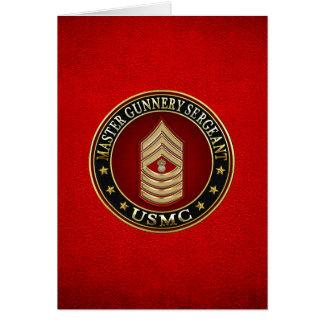 Tarjeta Infantes de marina de los E.E.U.U.: Sargento de