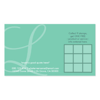 tarjeta inicial aérea de la lealtad tarjetas de visita