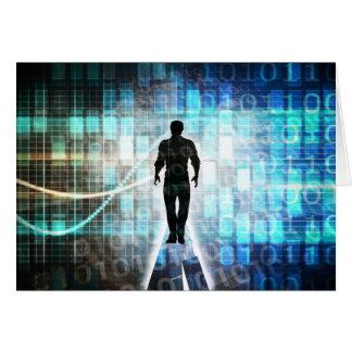 Tarjeta Instrucción de Digitaces como concepto Backgroun