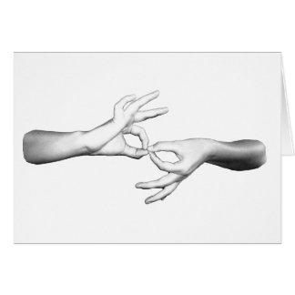 Tarjeta Intérprete del ASL