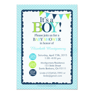 Tarjeta ¡Invitación de la fiesta de bienvenida al bebé es
