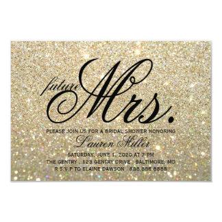 Tarjeta Invite - a señora futura fabulosa Bridal Shower de