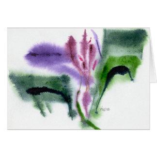 Tarjeta Iris, pequeño, Notecard