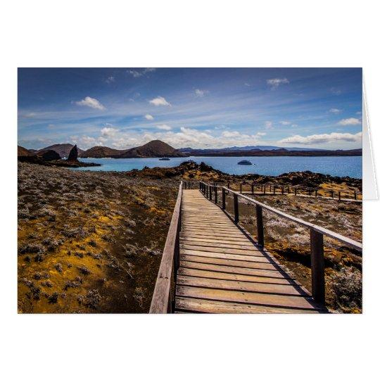 Tarjeta Isla de Bartolome en las islas de las Islas