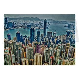Tarjeta Isla de Hong Kong