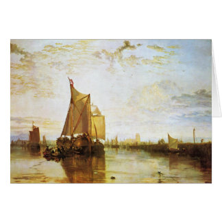 Tarjeta J.M.W. Turner - el Dort 1818
