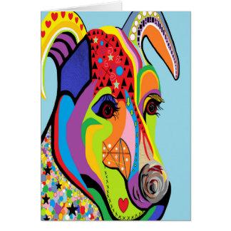 Tarjeta Jack Russell Terrier