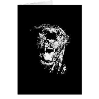 Tarjeta Jaguar negro