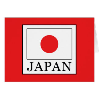 Tarjeta Japón