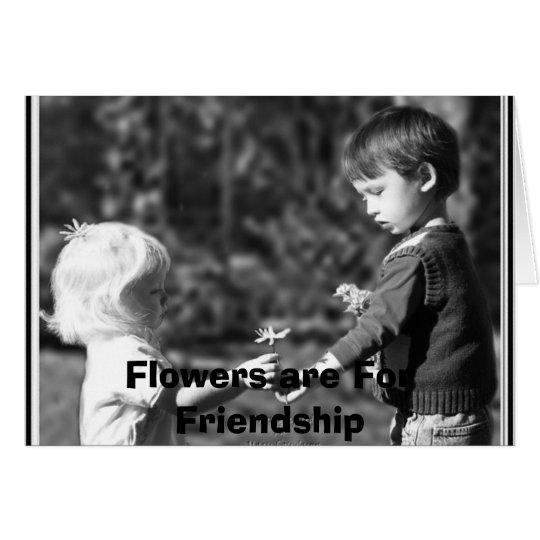 Tarjeta Jesse y Cristabel, flores están para el franco…