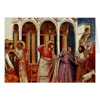 Tarjeta Jesús limpia el templo - compañero