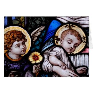 Tarjeta Jesús y Juan