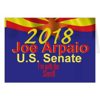 Tarjeta Joe ARPAIO AZ 2018