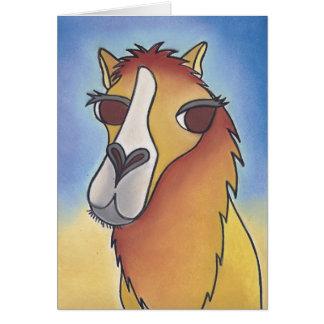 Tarjeta Joe el camello de no fumadores de Robyn Feeley