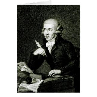 Tarjeta Joseph Haydn c.1770