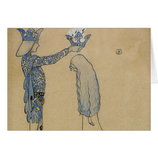 Tarjeta Juan Bauer - entonces ponga al príncipe una corona