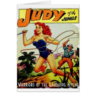 Tarjeta Judy de la selva