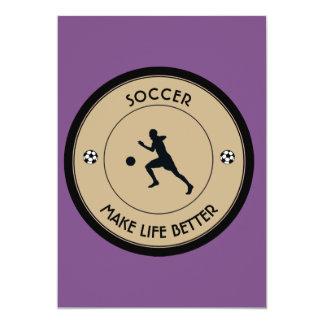Tarjeta Jugador de fútbol