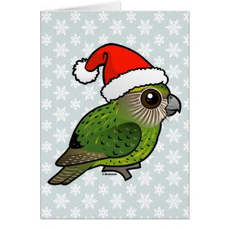 Tarjeta Kakapo Claus