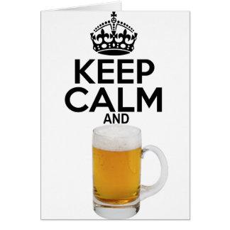 Tarjeta keepcalm_Beer