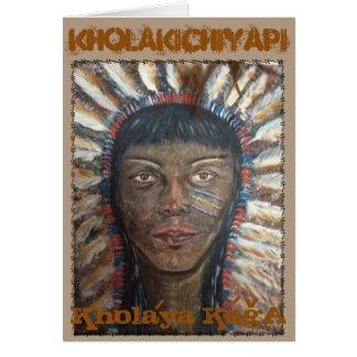 Tarjeta Kholakichiyapi Kholaya KagA