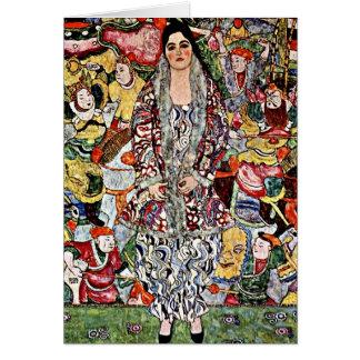 Tarjeta Klimt - cerveza de Fredericke Maria - arte de