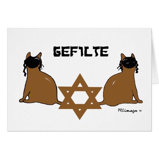 Tarjeta kosher de Kats