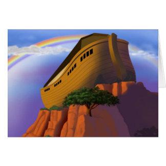 Tarjeta La arca de Noah