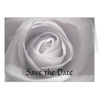 Tarjeta La blancura, ahorra la fecha