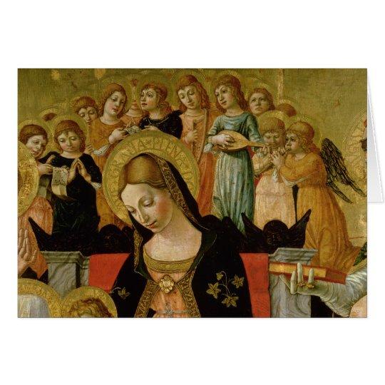Tarjeta La boda del santo Catherine de Siena