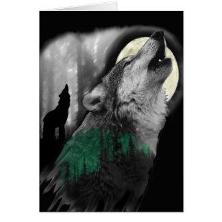 Tarjeta La canción del lobo