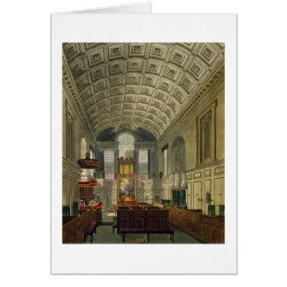 Tarjeta La capilla alemana, el palacio de San Jaime, 'del