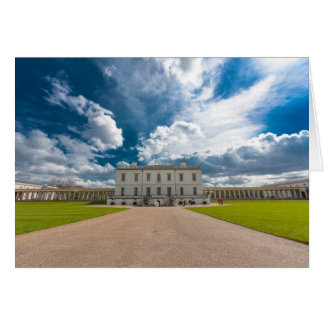 Tarjeta La casa de la reina, Greenwich