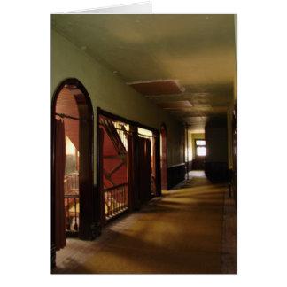 Tarjeta La ciudad del Hotel-Jardín de Windsor, Kansas