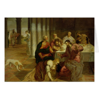 Tarjeta La conversión de Maria Magdalena, 1546-7