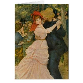Tarjeta La danza de Pierre-Auguste Renoir en Bougival