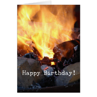 Tarjeta La fragua del herrero, feliz cumpleaños