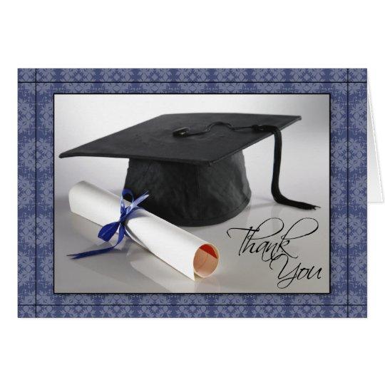 Tarjeta La graduación modificada para requisitos