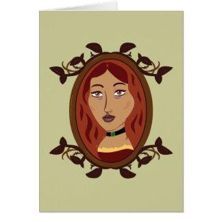 Tarjeta La hija Notecards del Bowyer