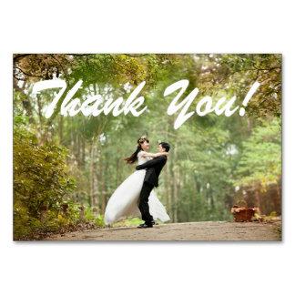 Tarjeta La invitación de boda le agradece