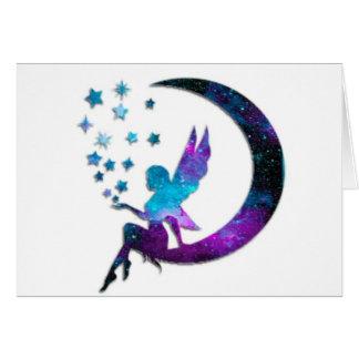 Tarjeta La luna de hadas protagoniza púrpura