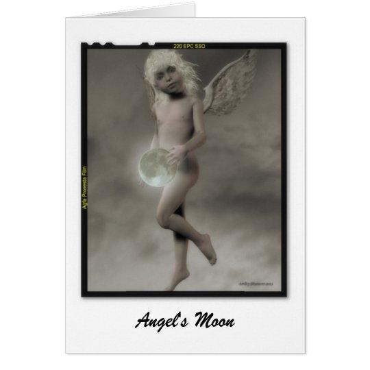 Tarjeta La luna del ángel