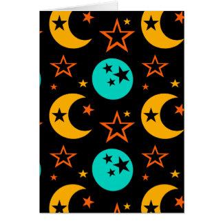 Tarjeta La luna protagoniza la astrología estrellada